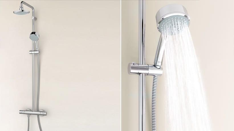 grohe new tempesta cosmopolitan zestaw prysznicowy termostatyczny chrom 27922000 azienka jutra. Black Bedroom Furniture Sets. Home Design Ideas