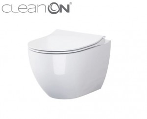 OPOCZNO URBAN HARMONY Miska WC Clean On + deska w/o Slim K701-256