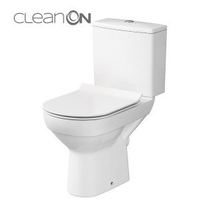 CERSANIT CITY SLIM Kompakt WC Clean On + deska wolnoopadająca K35-036